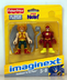 imaginext super friends mini figure hawkman
