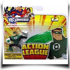 Buy Green Lantern With Cannon Construct
