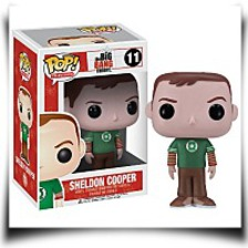 Pop Television Sheldon Cooper Green