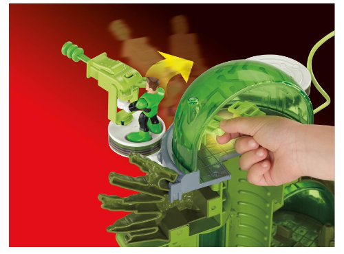Fisher-price Imaginext Dc Super Friends Green Lantern Planet Oa